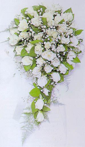 造型各异的新娘手捧花 挑选适合你的捧花