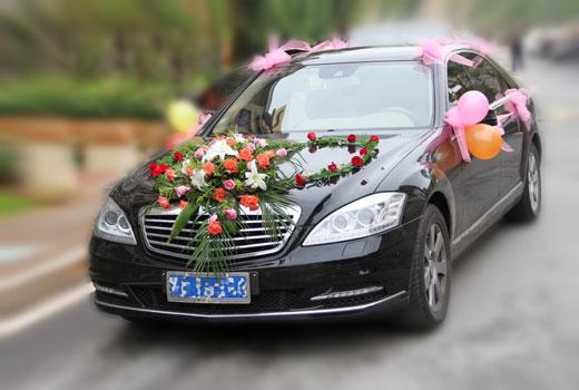 婚车装饰花要求具备4个特点,即色艳、新鲜、花大、寓意好。  色艳:指花朵的色彩要艳丽、浓烈,能体现喜庆的气氛。  新鲜:指离开母体时间较短,整体完好,损伤程度小。  花