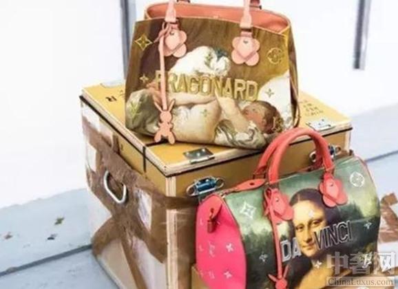 LV遇上名画 打造春夏新款包包