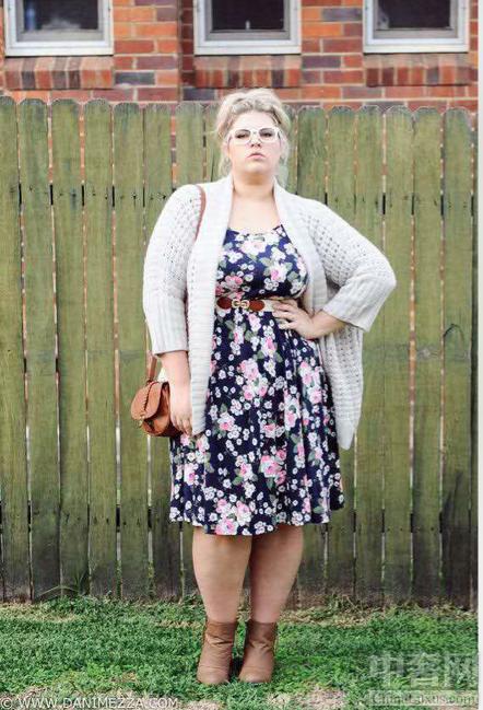 胖美人应该怎么穿 胖子穿好了也显廋