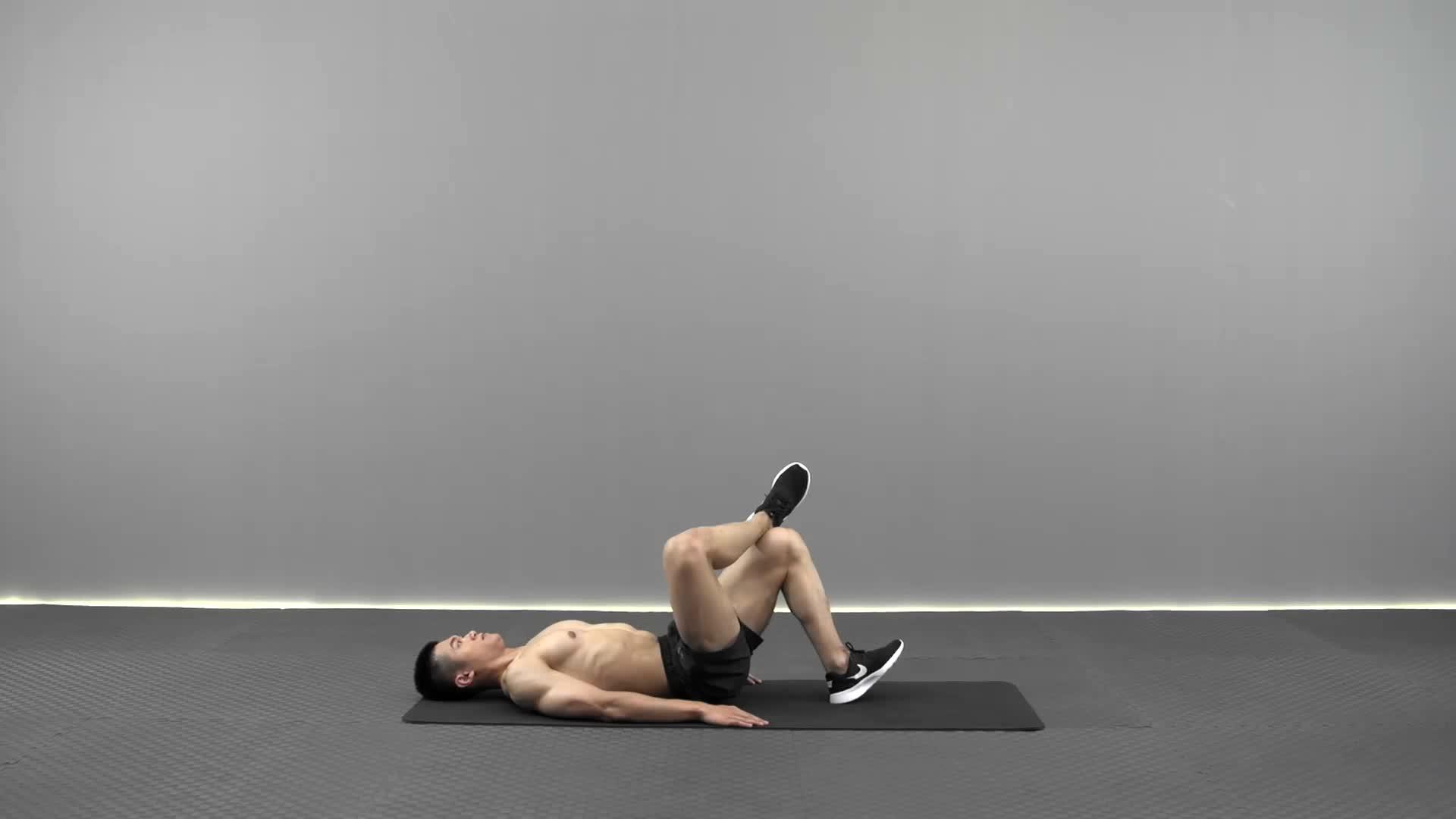 动作要领图                 1、收紧腹部、臀部2、脚尖与膝盖保持同一方向           主要肌肉示意图        叠腿臀桥 L的动作要领 1、收紧腹部、臀部<br /> 2、脚尖与膝盖保持