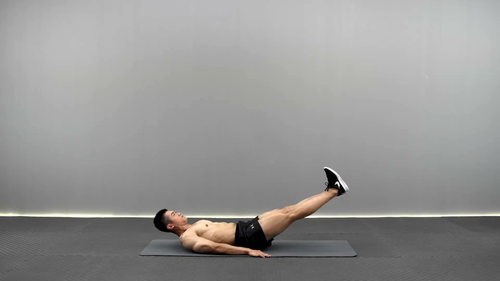 动作要领图                 腹部保持持续紧张,双手置于臀下,腿尽量伸直           主要肌肉示意图        开合举腿的动作要领 1部保持持续紧张,双手置于臀下,腿尽量伸直