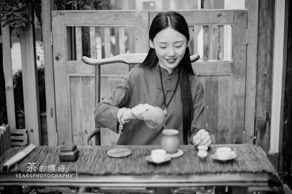 茶道礼仪饮茶妆容