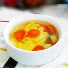 菠萝苦瓜汤菠萝苦瓜汤是老少皆宜的一道汤,具有清热除、明目润肠的功效,特别适合在夏季食用,喝上一碗美味的菠萝苦瓜汤,心情也会变得开朗起来,是非常值得推荐给大家一道靓汤。营养