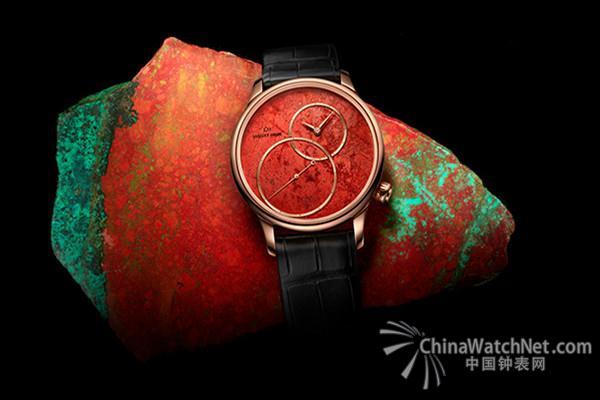 2017.07.10时值第七届Only Watch慈善拍卖会举办之际,名表雅克德罗(Jaquet Droz)呈献一款卓越的偏心大秒针(Grande Seconde Off-centered)腕表,并将其销售收益用于研究治愈杜氏肌肉