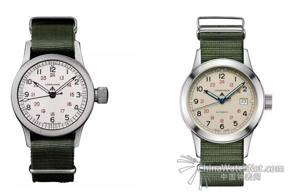 军表在钟表历史上一直拥有重要的地位,是一个时代的划分。在上世纪的两次世界大战期间,为了满足军事需求,军表以简洁的表盘设计和大尺寸表壳与民用手表区别开来,风格自成一派。随