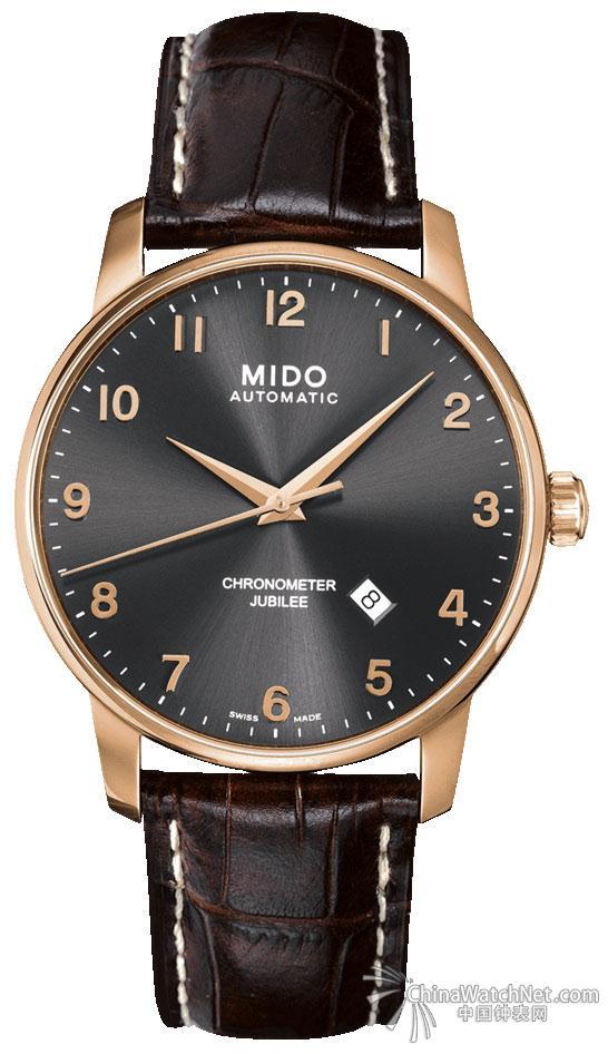 当我们在任何一个论坛提问推荐一款入门级的瑞士腕表时,得到的答案往往不外乎天梭、美度。美度(Mido)是入门级瑞士品牌,它是天梭(Tissot)的兄弟,与天梭都隶属于钟表巨无霸——斯沃琪