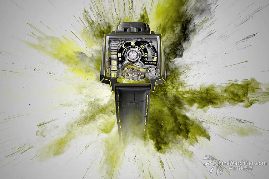# 为色彩而生 #豪朗时全新腕表